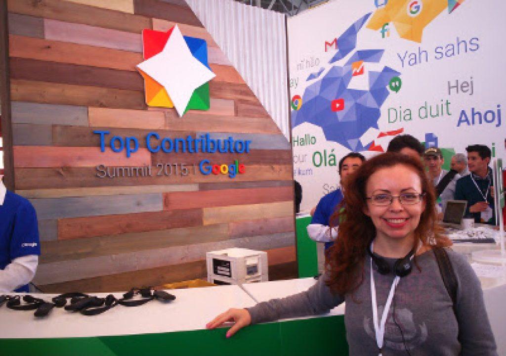 Nossa diretora em Summit Google Ads na Google MTV