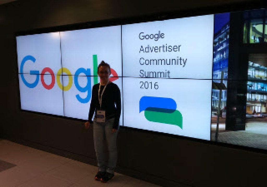 Nossa diretora Jane Audrei em Summit na Google de Dublin