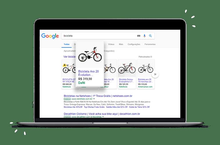 Anúncios Google Shopping